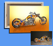 Box Canvas: Portrait Of Your Bike Or Trike From Your Own Photos Ready To Hang