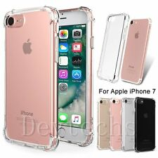Slim Soft TPU Bumper Shockproof Protector Crystal Clear Case for Apple iPhone 7