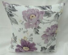 "Laura Ashley Designer Cushion Cover ""PEONY GARDEN"" Amethyst Fabric Various Sizes"