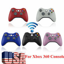 LOT20 Wired Wireless Game pad Remote Controller for Microsoft Xbox 360 Console W