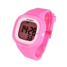 Men Womens New Fashion Silicone Candy Color LED Sport Digital Wrist Watch