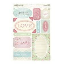 Papermania Vintage Notes 'Sentiments' A4 Die-Cut Toppers
