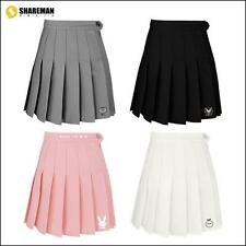 New Cute High Waist Pleated Skirts Student Skits Girls Skirt Sweet 4 Colors