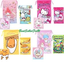 Sanrio Cleaning Storage Pouch Sunglasses Glasses Drawstring Bag OR w/Leans Cloth