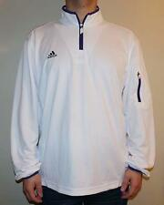 NWT Adidas Mens Climalite Coaches 1/4 Zip Performance Pullover Jacket