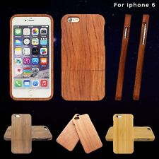 New Natural Wood Wooden Case Bamboo Phone Back Shell Cover Cases for iPhone