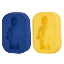 Silicone Robot Man Ice Tray Candy Jelly Chocolate Cake Cookie Mold DIY XT