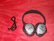 Clean Working Bose QuietComfort 3 QC-3 Rechargeable Noise Canceling Headphones E