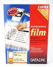 Laser & Copier Transparency OHP Acetate Clear Film A4 Top Quality ( x5 Or x10 )