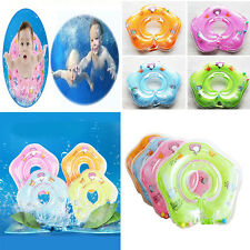 Baby Swimming Neck Float Infant Bath Ring Adjustable Safety Aids For Newborn