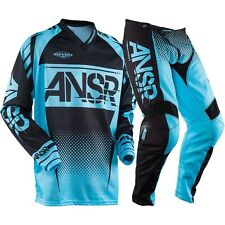 Answer NEW Mx 2017.5 ANSR Syncron Blue Black Motocross Dirt Bike BMX Gear Set