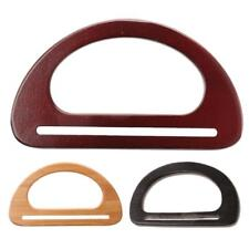 Purse Bag Wooden Handle Part Accessories Wood Frame Handle Wooden Bag Handles