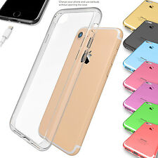 Ultra Slim Thin TPU Clear Gel Skin Case Cover for Apple iPhone 5s 6 6s 7 7 Plus