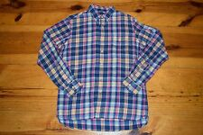 Polo Ralph Lauren Plaid Twill Bleecker Pocket Sport Shirt Long-Sleeve sz. M