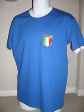 RETRO ITALY Embroidered Football T-Shirt