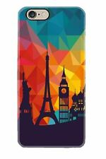 iphone 6 7  6S 6+ 7+ cell mobile phone case Eiffel Tower Statue Liberty Big Ben