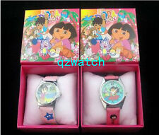 New 5/10/20/30 Pcs Girl Cartoon Children Watches W/Gift boxes Wholesale