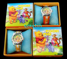 New 5/10/20/30 PCS Winnie Bear Kid's Cartoon Watches W/Gift boxes Wholesale