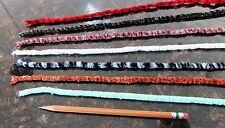 Fly Tying Chenille or Scrapbooking Fiber Yarn. Solid/Variegated. Choose colors!
