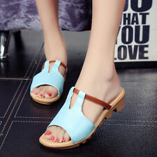 New Fashion Women's Summer Platform shoes Slipper Casual Shoes RG042