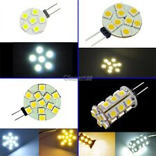 G4 6/9/12/24 5050 SMD LED Marine Camper Car Bulb Lamp 12V Pure White/ Warm OK01