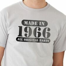 Fathers Day Gift Made in 1966 ( ANY YEAR) all original parts Mens T shirt