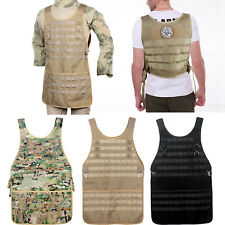 Tactical BBQ Grill & Crafts Multi-Use MOLLE Work Apron [No pouches] (3 Colors)