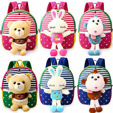 Cute Animal Toddler Kids Children Boy Girl Backpack School Bag Kindergarten