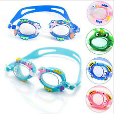 Kids Child Summer Anti-fog UV Protection Adjustable Swimming Goggles Glasses