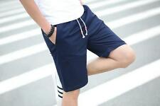 Men's Casual Pants Baggy Shorts Pockets Cargo Short Pants Trousers hot