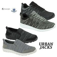 MENS RUNNING TRAINERS CASUAL LACE GYM WALKING BOYS SPORTS LIGHTWEIGHT SHOES SIZE