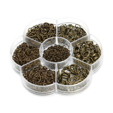 Jewelry Findings Kit Assorted Size Open Jump Rings for Jewelry Making Crafting