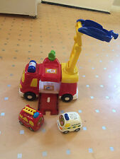 VTech Baby Toot-Toot Drivers Big Fire Engine with small fire engine & ambulance