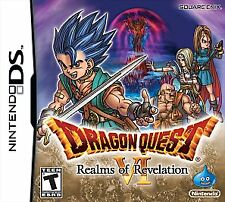Dragon Quest VI: Realms of Revelation (Nintendo DS, 2011) CARTRIDGE ONLY