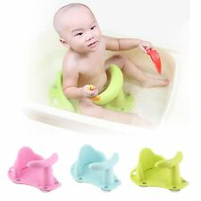 New Baby Bath Tub Ring Seat Infant Child Toddler Kids Anti Slip Safety Chair AE