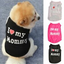 Pet Cat Dog Summer Cotton Clothes T Shirt Puppy Vest Coat Apparel Costumes XS-L