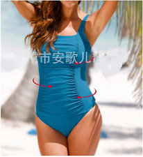 Women's Vintage One Piece Monokini Bikini Push-up Swimsuit Suit Swimwear Plus