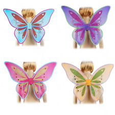 Princess Butterfly Fairy Wings Fancy Dress Dressing Up Ladies Girls Child Party