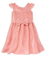 NWT Gymboree Spring Dressy Collection Pink Bow Dress 4 5 6 7 Easter Wedding Girl