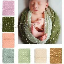 Cute Baby Kid Newborn Mohair Wrap Cloth Prop Outfits Photo Photography&Headdress