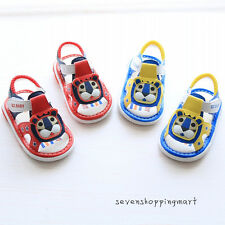 New Cute Infant Shoes Baby Boys Sandals Summer Squeaky Walking Shoes Summer Shoe