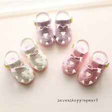 New Summer Infant Shoes Baby Girls Lights Comfortable Walking Shoes Sandals Size