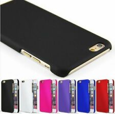 Rubberized Plastic Hard Case Plus Back Cover iPhone 6 Plus 7 Skin Shell PAPC023