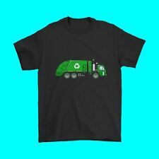 Kids Garbage Truck Shirt - Trash Truck Shirt - With Dumpsters