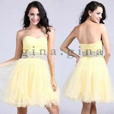 Mini Celebrity Dress Tulle Sweetheart Short Prom Party Dresses Pageant Gowns