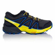 Salomon Speedcross Junior Navy Blue Trail Running Sports Shoes Trainers