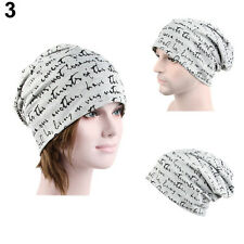 MEN'S WOMENS FASHION HIP-HOP WARM WINTER COTTON SKI BEANIE SKULL CAP HAT ELEGANT