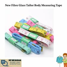 """Body Measuring Ruler Sewing Clothes Tailor Tape Measure Soft Flat 60"""" /150cm"""