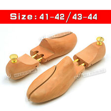 HOT Mens High Quality Wood Double Tube Shoe Trees Wooden Shoe Trees Stretcher