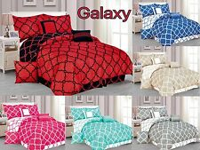 Galaxy 7-Piece Comforter Set Reversible Soft Oversized Bedding Bed in a Bag SALE